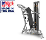 American Built AB-6045 Selectorized Chest Press and Shoulder Press Combo by Matrix