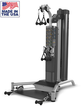 American Built AB-6099 Selectorized Total Body Trainer for Commercial Clubs by Matrix