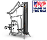 American Built AB-6235IC Selectorized Independent Diverging Lat Pulldown by Matrix
