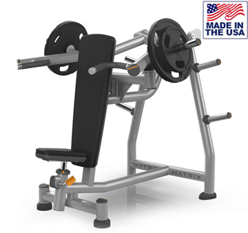 American Built AB-A414 Plate Loaded Biangular Shoulder Press by Matrix