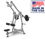 American Built AB-A435 Plate Loaded Diverging Lat Pulldown Machine