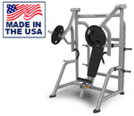 American Built AB-A480 Plate Loaded Vertical Decline Chest Press Machine by Matrix
