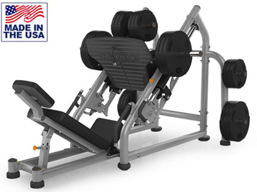 American Built AB-A51 Plate Loaded Leg Press with Linear Bearings by Matrix