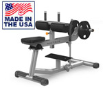 American Built AB-A53 Plate Loaded Seated Calf Machine with Adjustable Thigh Pads by Matrix