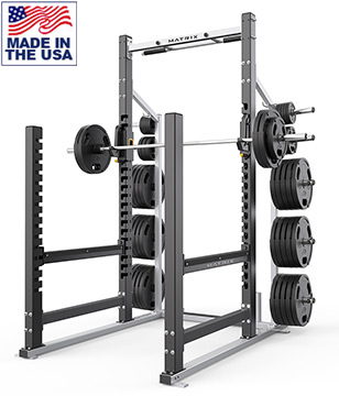 American Built AB-A694 Pro Open Powerlifting Rack