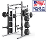 American Built AB-D69 Varsity Double Rack