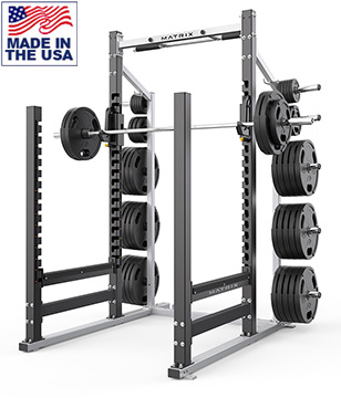 American Built AB-D694 Varsity Open Power Rack