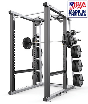 American Built AB-MR47 Mega Weightlifting Power Rack