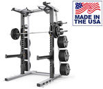 American Built AB-MR690 Mega Half Rack for Performance Training by Matrix