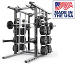 American Built AB-MR691 Mega Double Strength Training Rack