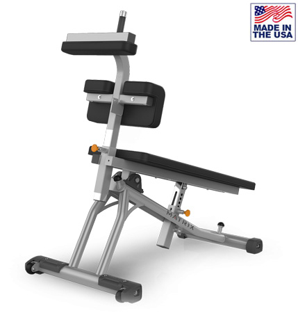 American Built AB-A77 Adjustable Crunch Board with Rollers by Matrix