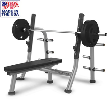 Bench Press with Storage