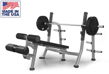 Decline Bench Press with Storage