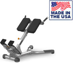 American Built AB-A93 45 Degree Back Extension Bench