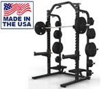 American Built AB-D690 Varsity Half Rack for Olympic Weightlifting by Matrix