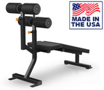 American Built AB-D77 Abdominal Crunch Board for Commercial Gyms by Matrix