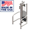 American Built AB-FS923 Selectorized Free Standing Adjustable Pulley by Matrix