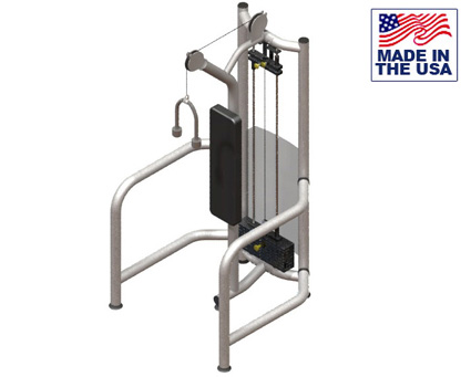 American Built AB-FS942 Selectorized Free Standing Tricep Pushdown