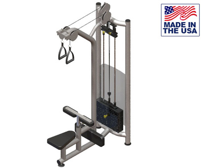 Dual Pulley Lat Pulldown