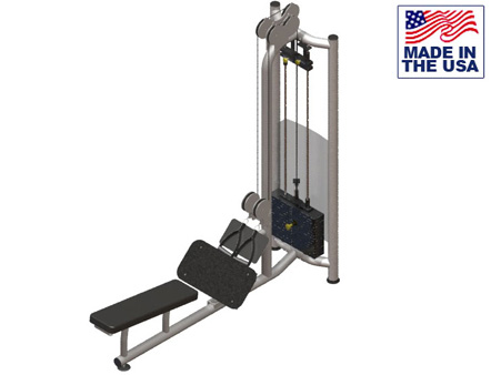 American Built AB-FSDP926 Free Standing Dual Pulley Low Row by Matrix