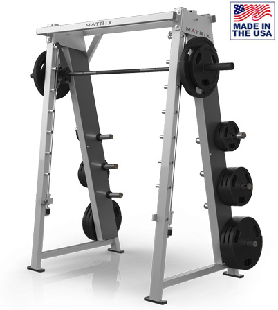 American Built AB-M49 Angled Smith Machine with Linear Bearings by Matrix