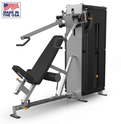 American Built AB-MBT200 Selectorized Biangular Transformer Fitness Machine by Matrix