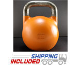 12 KG (Orange) V2 Pro Series Competition Painted Kettlebell