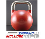 16 KG (Red) V2 Pro Series Competition Painted Kettlebell