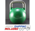 20 KG (Green) V2 Pro Series Competition Painted Kettlebell