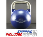 24 KG (Blue) V2 Pro Series Competition Painted Kettlebell