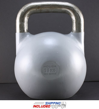 28 KG (Gray) V2 Pro Series Competition Painted Kettlebell