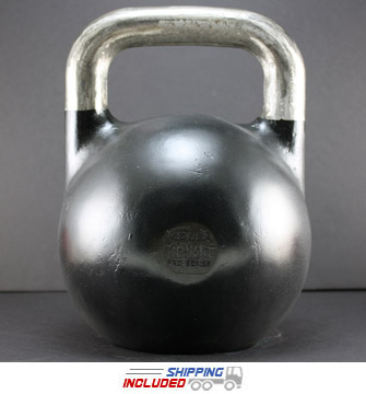 32 KG (Black) V2 Pro Series Competition Painted Kettlebell