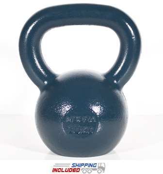 10 KG Blue Series Gravity Casted Kettlebell