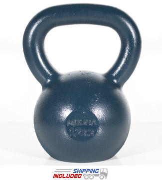 12 KG Blue Series Gravity Casted Kettlebell
