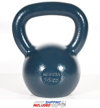 14 KG Blue Series Gravity Casted Kettlebell