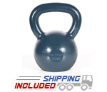 18 KG Blue Series Gravity Casted Kettlebell