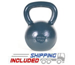 24 KG Blue Series Gravity Casted Kettlebell