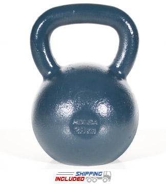28 KG Blue Series Gravity Casted Kettlebell