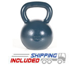 32 KG Blue Series Gravity Casted Kettlebell