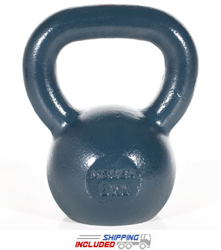 8 KG Blue Series Gravity Casted Kettlebell