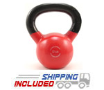 12 lb. Fitness Series Vinyl Coated Kettlebell