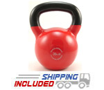 35 lb. Fitness Series Vinyl Coated Kettlebell