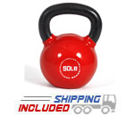 50 lb. Fitness Series Vinyl Coated Kettlebell