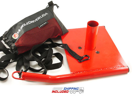 Speed Sled with Adjustable Harness