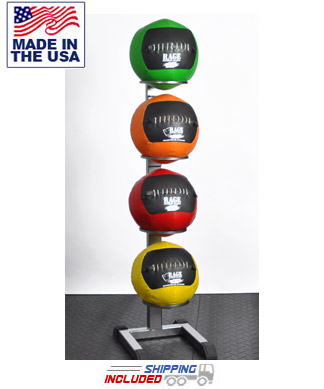 Soft Cover Medicine 4 Ball Rack