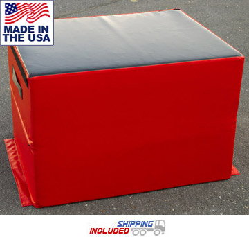 "24"" Soft Impact Stacking Plyo Box"