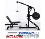 Powertec L-CG13 Plate Loaded LeverGym Compact Home Gym