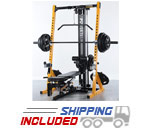 Powertec WB-HR14 Half Rack Home Gym for Strength Training