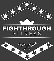FightThrough Fitness Laminated Workout Posters for Crossfit Wod and Spartan Race Training