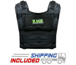 RAGE Fitness CF-WVR36/R 36 lb. Short Adjustable Weighted Training Vest